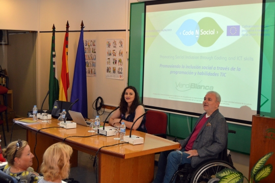 CODE-N-SOCIAL 5th partner meeting and Multiplier Event in Almería